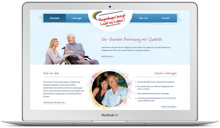 Website Vorschau